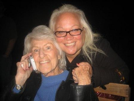 Debbie Abono (v) och Marie Ferrero (h)